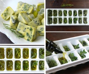 manteiga de azeite com ervas