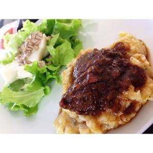 Um amor chamado polenta com carne de panela! #confortfood