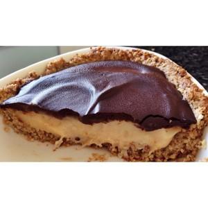 Torta deliciosaa de cupuaçu com chocolate 70%, funcional!! Muito boa!!