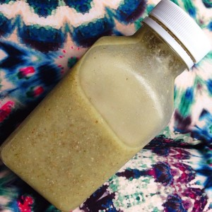 Suco verde de Abacaxi